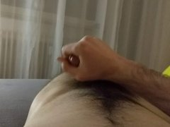 Cum on belly... Another masturbation clip