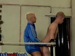 Old man fuck 3gp free gay sex tube Chained to the railing, young and