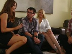 Julia Ann, Allison Moore Group Play