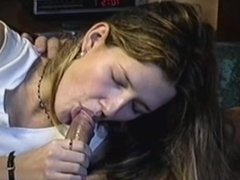 she cringes as she swallows