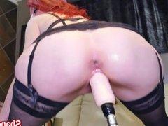 Milf Shanda Fay Gets Off with Fucking Machine!