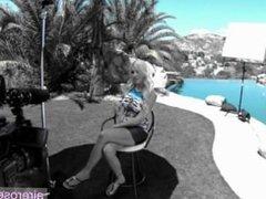 Clara Jhones blonde diva