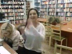 Library girl 50
