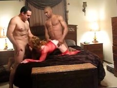 Wife enjoys hubby and best pal