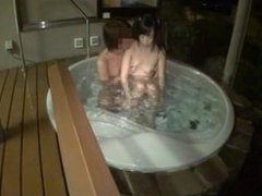 Creampies In The Bath With A Petite Girl
