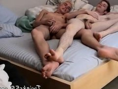 Gay men grinding their dicks first time Two Twinky Foot Loving Friends