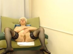 Grandma In Stockings