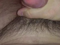Jerking my small cock in slow motion