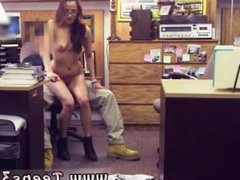 Best handjob domination College Student Banged in my pawn shop!