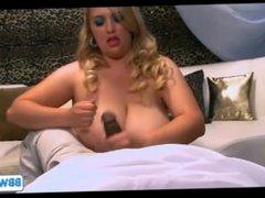 Blonde MILF BBW Fucked by BBC