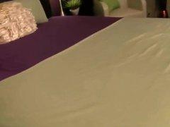 stepMom masterbates in pantyhose infront of stepson