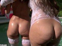 Rachel Starr and Nikki Stone -  Ass Parade