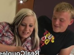 Real couple teen kylie and her partner dean talk about sex