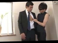 Asian Boy In Suit Gets Fucked