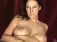 GIANNA MICHAELS STRIPPING AND MASTERBATING