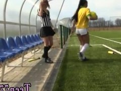 Teendreams anal hd first time Brazilian player pounding the referee