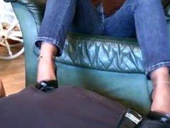 mature feet shoes stockings