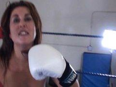 Boxing Bikini thug cori POV