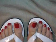 sexy long toenails
