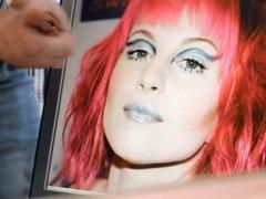Hayley Williams Facial Cum Tribute