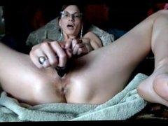 orgasm contraction w/ eye roll