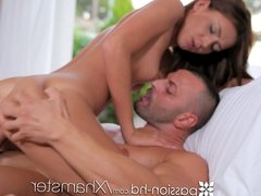 Passion-HD - Brunette Alexis Brill gets off with vibrator