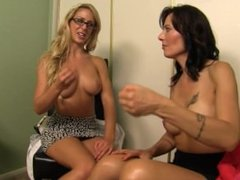 Stress management with Cherie DeVille and Zoey Holloway - JOI HD