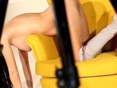 Yellow chair - Lucy Li
