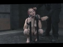 BDSM Bizarre Slave Ivy Hairy Punishment