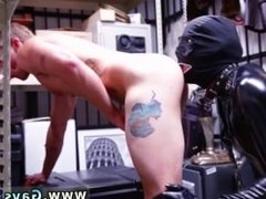 Black straight acting free gay porn Dungeon master with a gimp