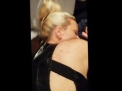 Amateur blonde mormon wife rides and cums on husbnds friends cock bareback