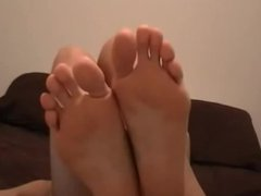 sexy long toes and nice soles