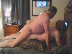 Photofetishsub gets a surprise BBC bareback fuck from Daddy
