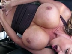 KELLY MADISON - Kelly Toys Her Pussy in the Truck After Walking Her Puppies