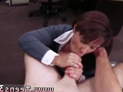 Hardcore mature sex first time MILF sells her husband's stuff for bail $$$