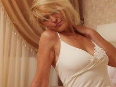 Best mature in white dress