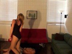 Sarah Ballerina Busts Balls