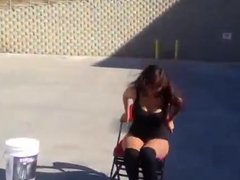 WWE LAYLA - Ice Bucket Challenge
