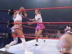 Women's Championship- School Girl Divas Battle Royal