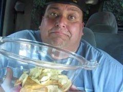 Joeys World Tour Nacho Cheese No Hands Challenge
