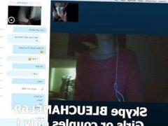 Skype teen big boobs huge cock cam webcam cam2cam french dick amateur cam