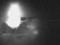 Spycam: Orgasm in the dark