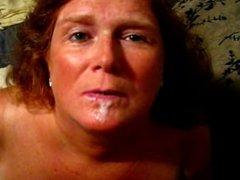 Redhead Wife Cum Bubbles HD