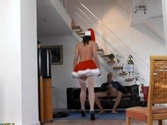 Ho stockings spurts jizz