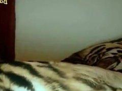 Sexy Brunette Masturbating for Her Boyfriend on Webcam