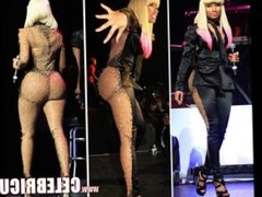 Nude Celebrity Nicki Minaj Leaked Cumshot And Big Ebony Tits