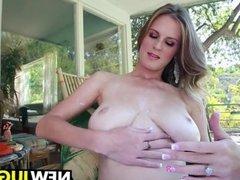 Olivia Blu Has Huge Tits