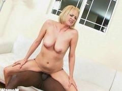 Blonde MILF Lya Pink With Pierce Nipples Inte
