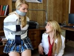 "Hollyrope - Janira and Izzy Wolfe ""Good schoolgirl, evil schoolgirl"""