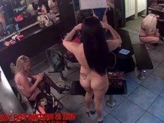 Dressing room spy cam